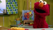 Elmo mit Kuchen © NDR Fotograf: screenshoz