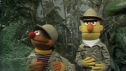 Ernie und Bert im Urwald © NDR/sesame workshop Foto: screenshot