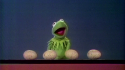 Kermit zählt Eier © NDR/sesame workshop Foto: screenshot