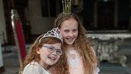 Sam und Kathy als Prinzessinnen. © Astrid Reinberger Foto: Astrid Reinberger