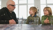 Jochen Hein, Anton und Konrad © NDR/Astrid Reinberger Foto: Astrid Reinberger