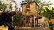 Finchen und Wolle sind im Baumhaus © NDR / Uwe Ernst