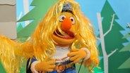 Bert hat Rapunzels Haare im Gesicht © NDR / Uwe Ernst