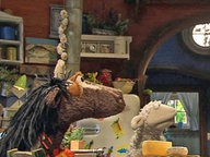 Pferd, Wolle und Inspektor Grobi. © NDR Fotograf: screenshot