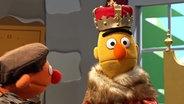 Bert als Kaiser. © NDR Fotograf: Thorsten Jander