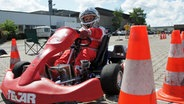 Torben  möchte Rennfahrer werden © NDR Fotograf: Melanie Kuss